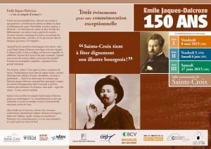 les commémorations du 150ème à Sainte-Croix