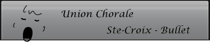 Chorale de Sainte-Croix/Bullet